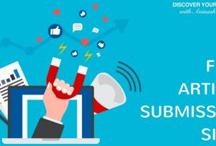 50+[Free] Article Submissions Sites List for 2019 [Updated]