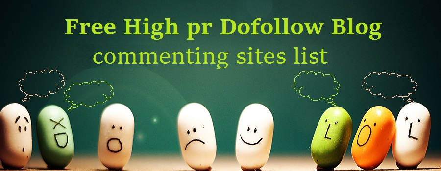 High PR Blog Commenting Sites list 2021