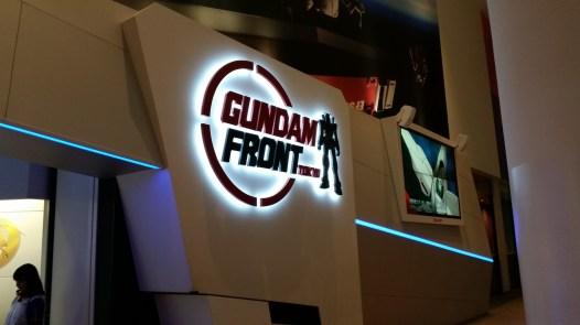 Entrée du Gundam Front