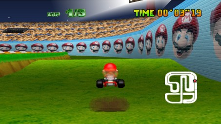 Mario Kart 64 (U) snap0011