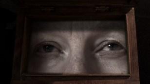 Liz Porter with eyes framed