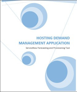 ServiceNow Hosting Demand Management