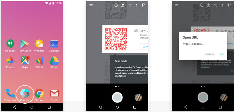QR Codes and Androids - LinLaurie com