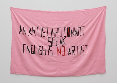 An Artist Who Cannot Speak English, 1994