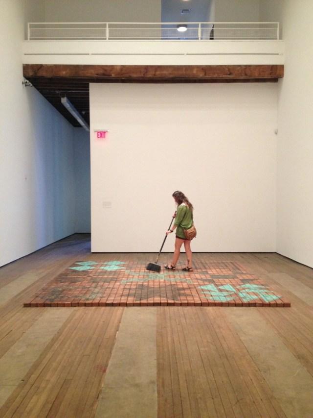"Installation view, ""Nari Ward: Breathing Directions"""