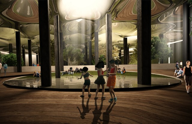 Rendering of Proposed Lowline