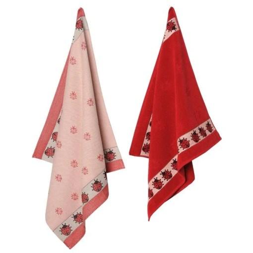 keukenset-theedoek-handdoek-rood