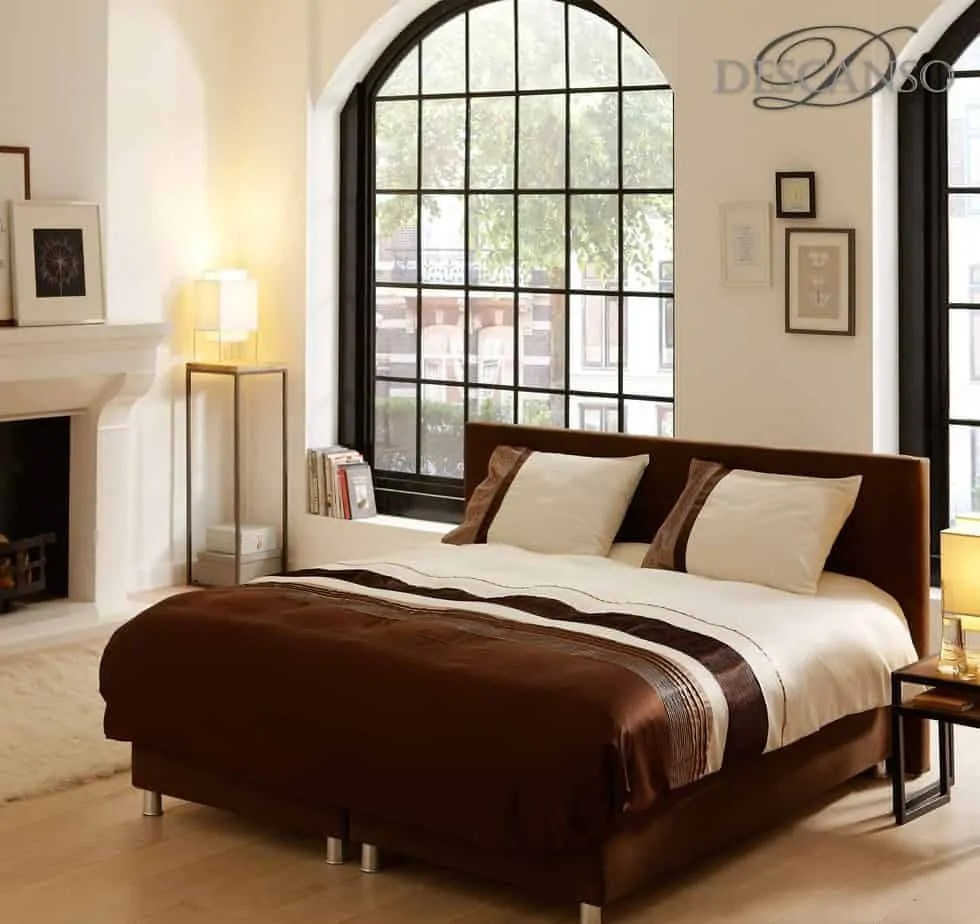 dekbedovertrek velvet descanso bruin beige ecru abstract modern