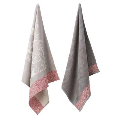 keukendoeken-elias-keukentextiel-katoen-linnen-love-rood-grijs-klassiek