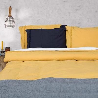 katoenen-dekbedovertrek-240-x-220-harwich-okergeel-overtrek-katoen-geel-beddengoed-designer-outlet-roermond