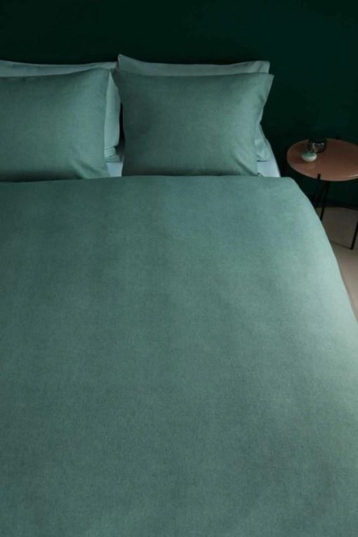 dekbedovertrek-frost-green-beddinghouse-groen-flanel