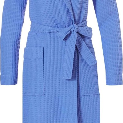 badjas-wafelstof-dames-bleu-wafel-ruit-wafeltjes-stof