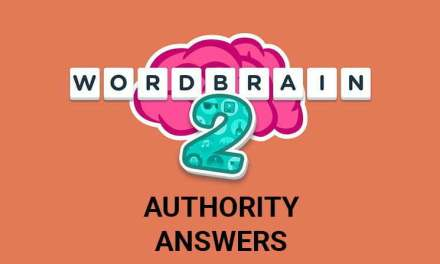 Wordbrain 2 Authority Answers