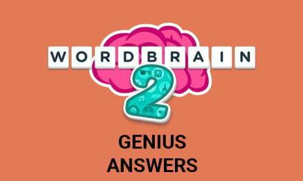 Wordbrain 2 Genius Answers