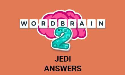 Wordbrain 2 Jedi Answers