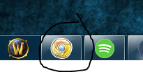 Efter Google Chrome ikon