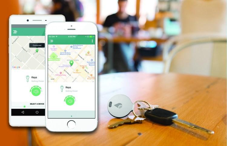 TrackR app e chiavi