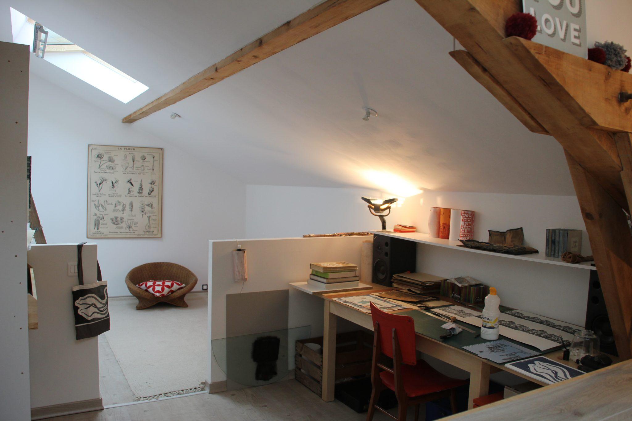 atelier   LinoLino   Linogravure   Créations artisanales