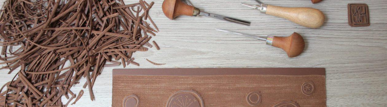 matériel de linogravure | LinoLino | Linogravure | Créations artisanales