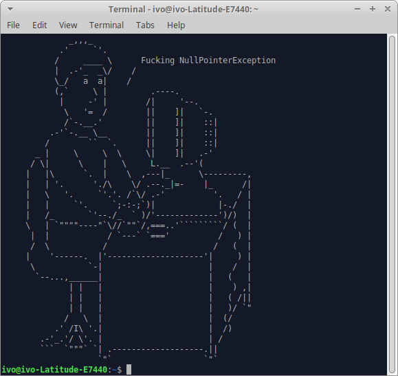 How to display random ascii art on terminal linux hosting provider ascii terminal drawing ccuart Choice Image