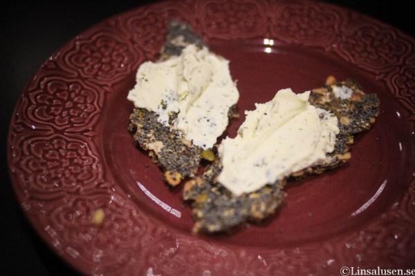 Fröknäcke med Cream Bonjour smak - örter