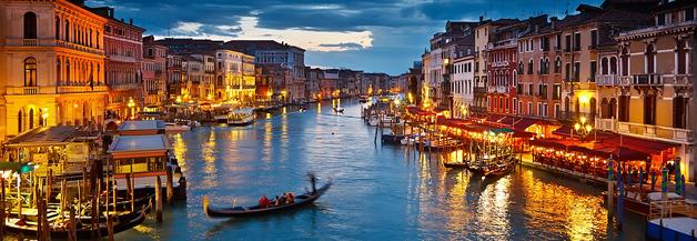 Akta er för att trilla inågon av Venedigs alla kanaler