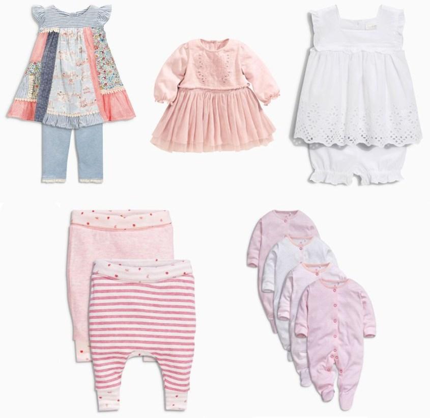 Lite kläder från Next till twinsen.