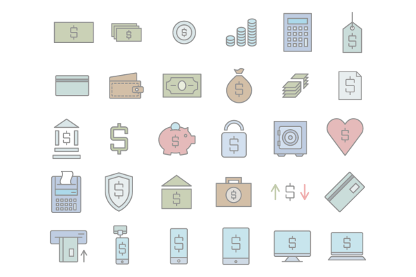 Business As Usual Icon Set 4
