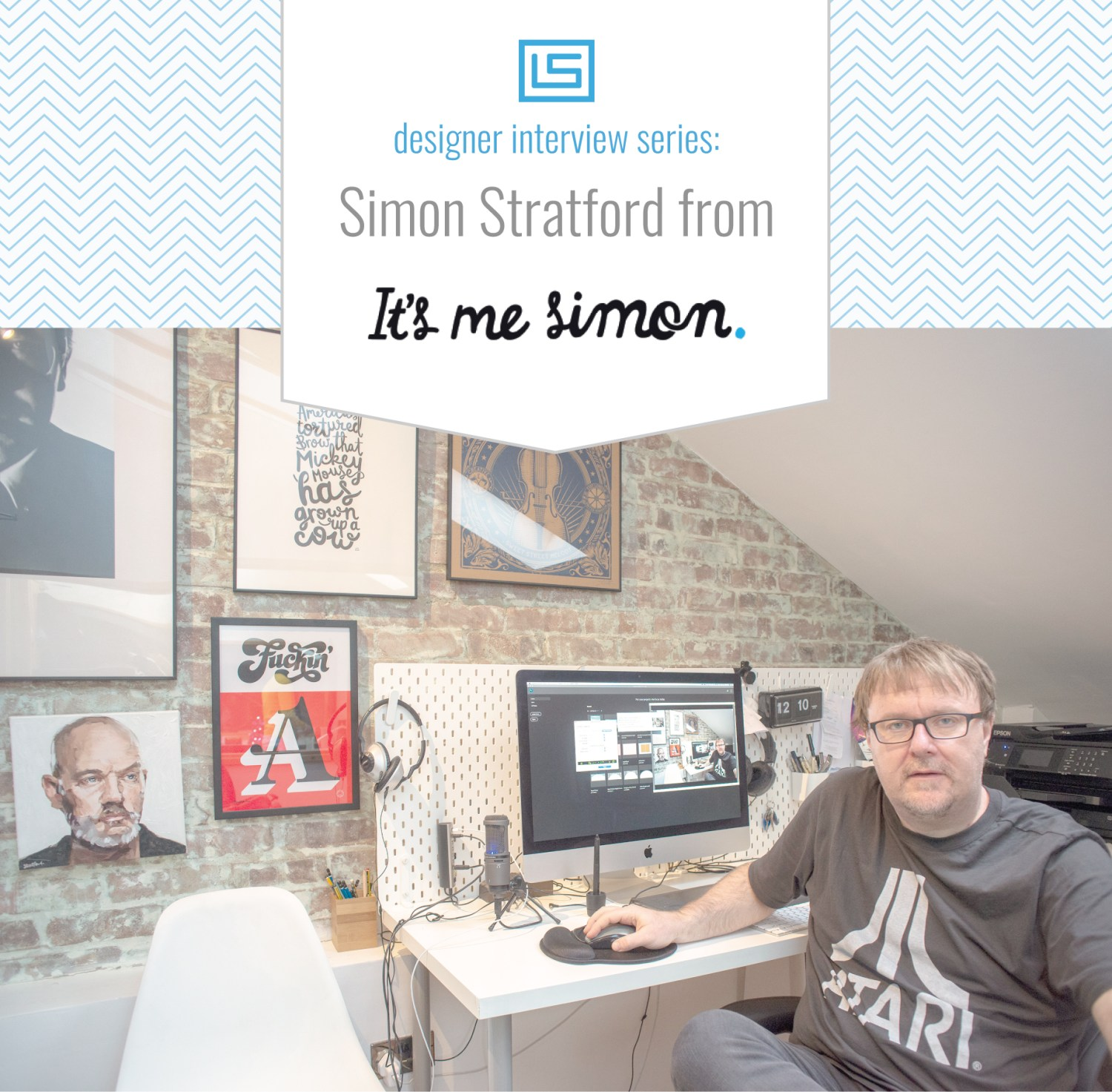 Simon Stratford from It's Me Simon