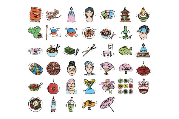 South Korea Illustrations 10