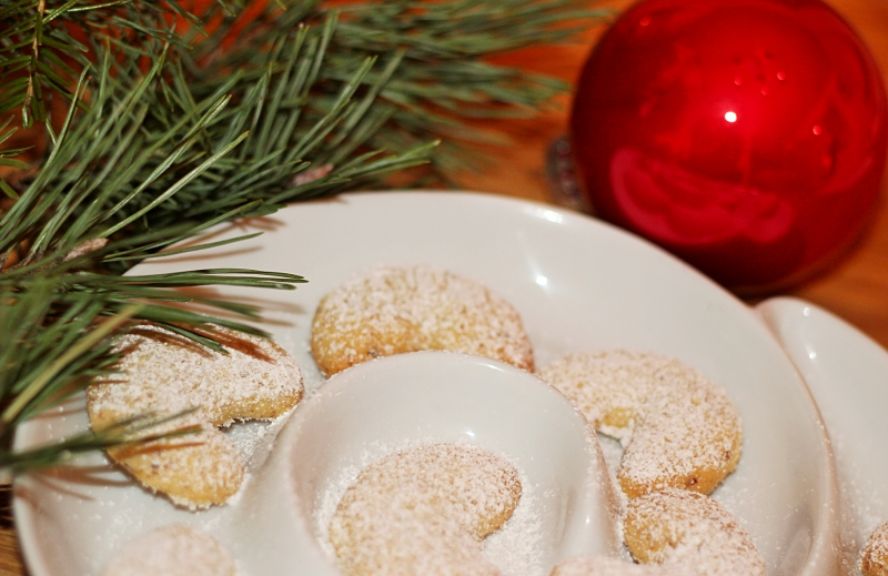 Adventskalender   Rezept für leckere Vanillegipfel
