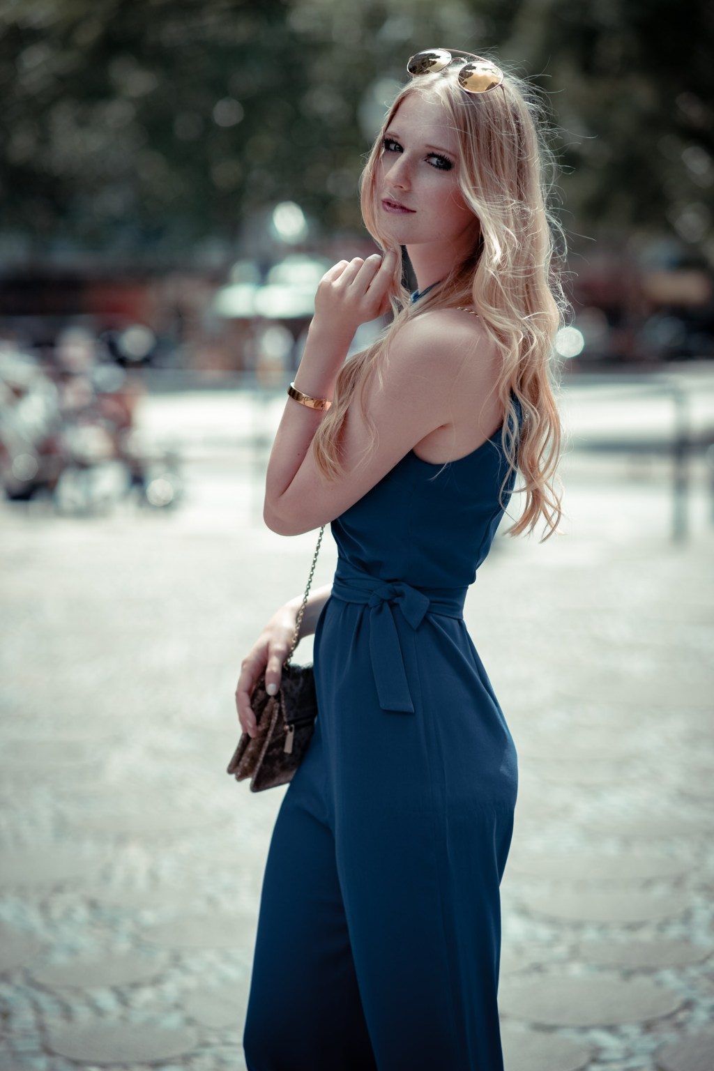 elegant, Jumpsuit, Overall, Zara, Outfit, Blogger, Hochzeitsgast, Shooting, Berlin, Fashion Week, Rosarot