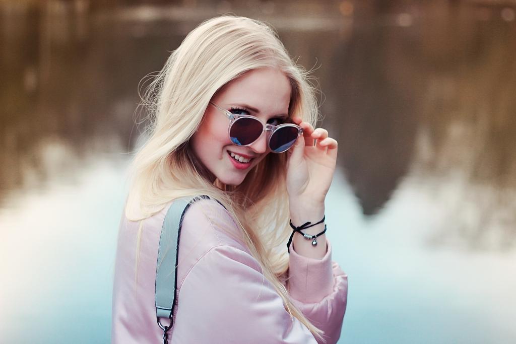 rosa Bomberjacke, oversize, Trend, Trendalarm, Musthave, sportlicher Look, Mädchen. See, ootd, Fashionblhgger