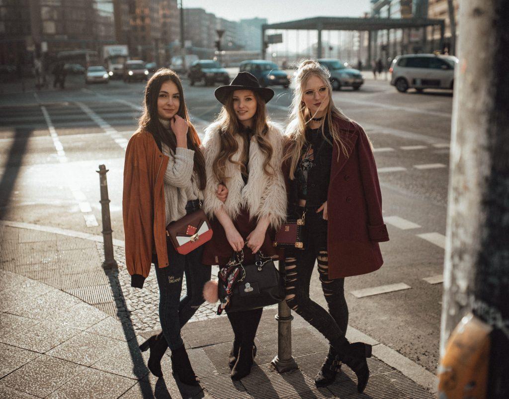 Freundschaft unter Bloggern, Freundschaft, Bloggerfreundschaft, Oberflächlichkeit, Arroganz, Berlin, Bloggermädels, Fashionblogger, Fotoshooting, Shooting,
