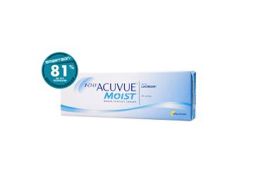 billiga 1-Day Acuvue Moist endagslinser 30 pack linser