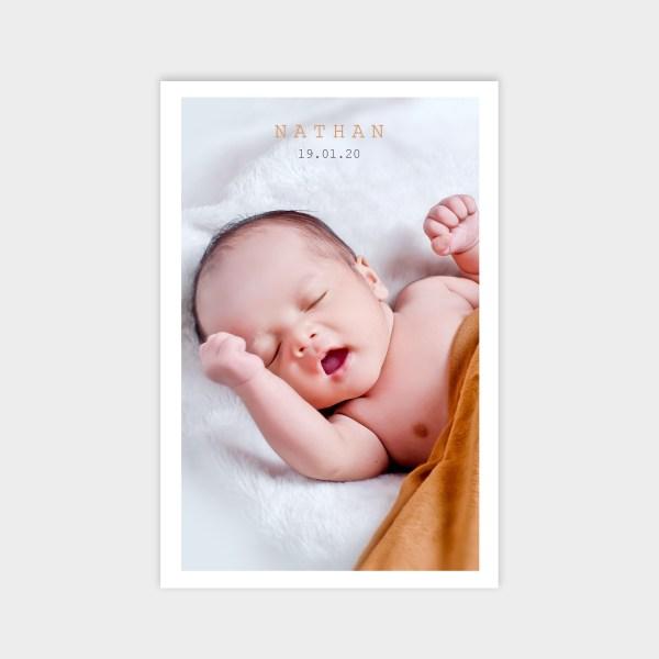 Faire-part de naissance Innocence
