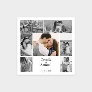 Faire-part de mariage Éternel