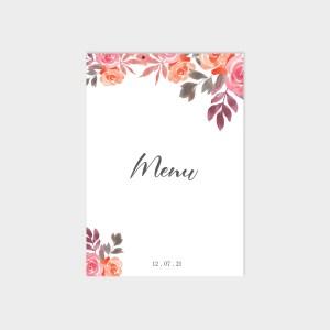Menu Bouquet