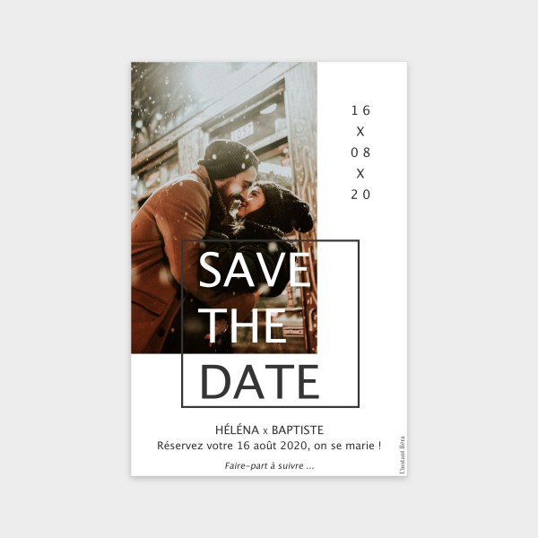 Save the date Amour