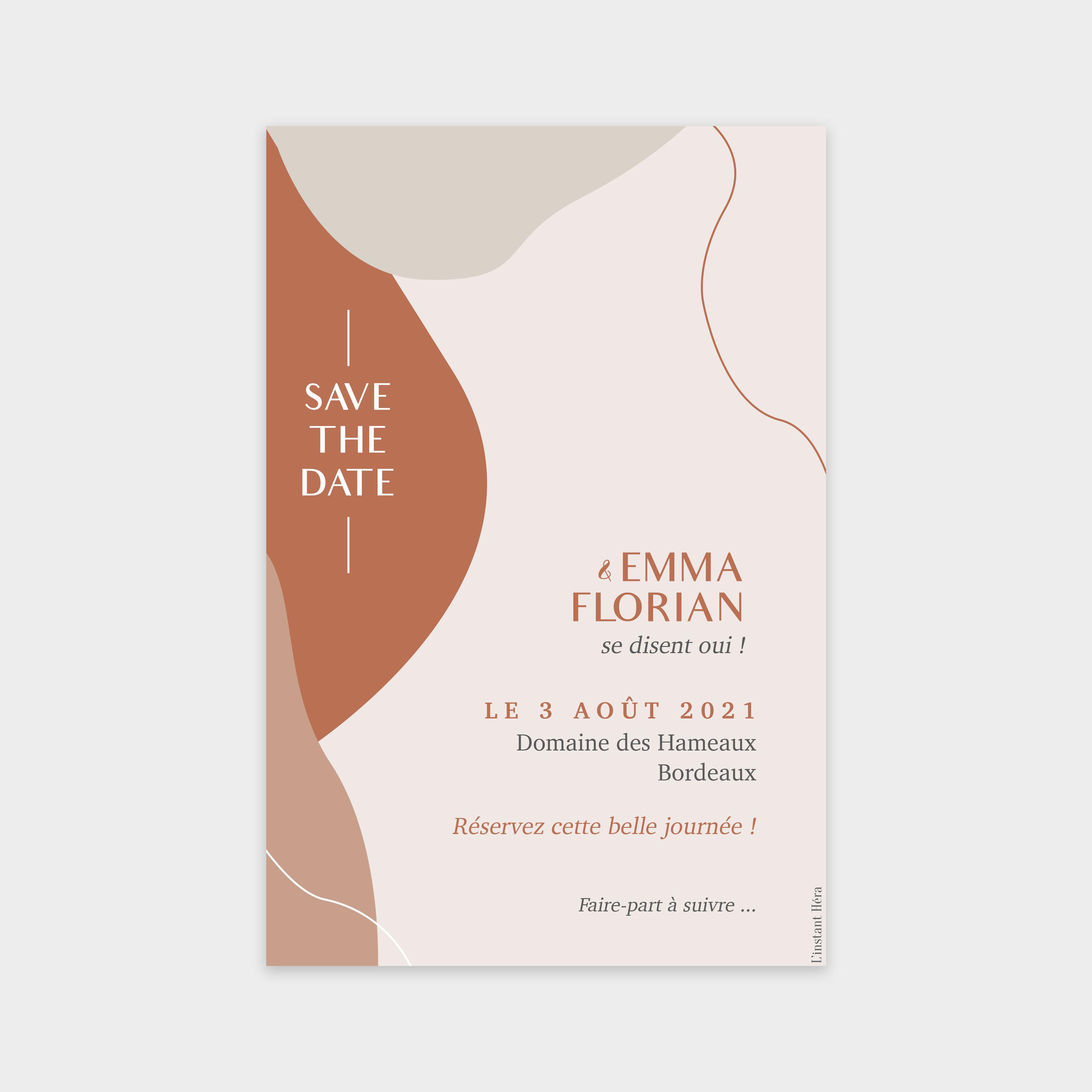 Save the date Ensemble