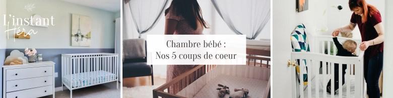 Chambre bébé : Nos 5 coups de coeur