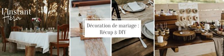 Décoration mariage : Recul & DIY