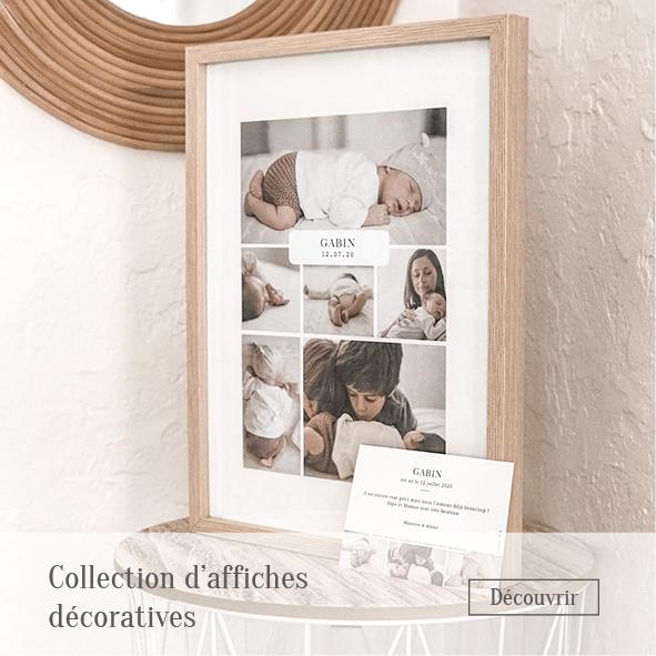Collection d'affiches décoratives