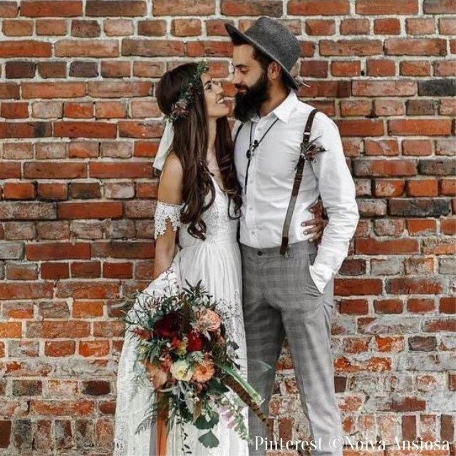 Tenues mariage Vintage