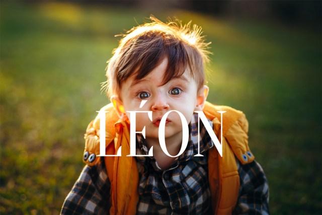 prénoms léon