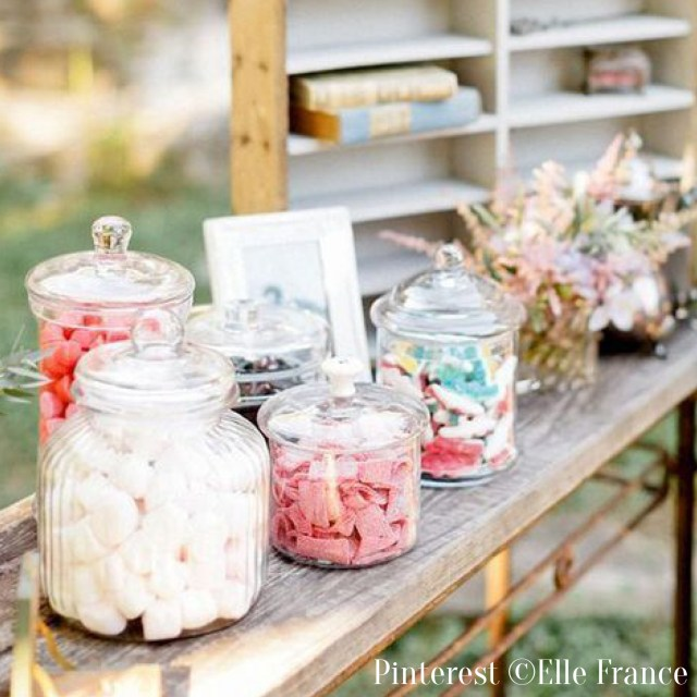 Activités de mariage-Candy bar