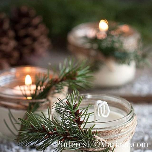 Cadeaux invités-Les bougies