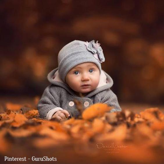 Photo naissance automne