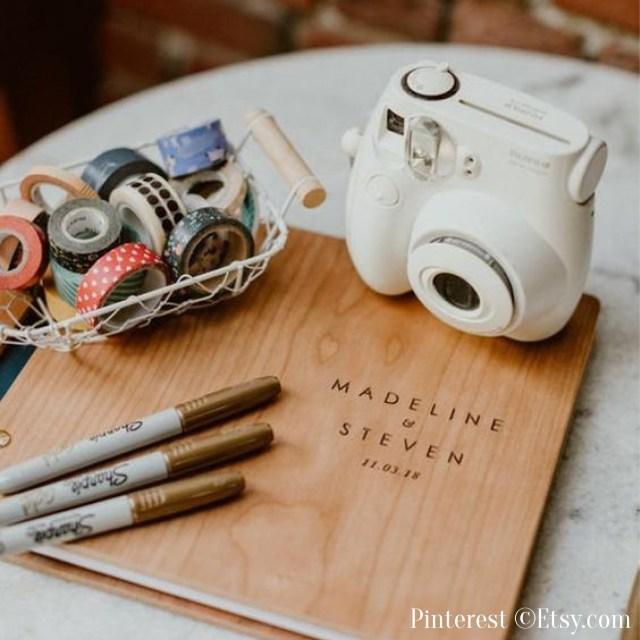Photobooth de mariage-Appareil photo polaroid