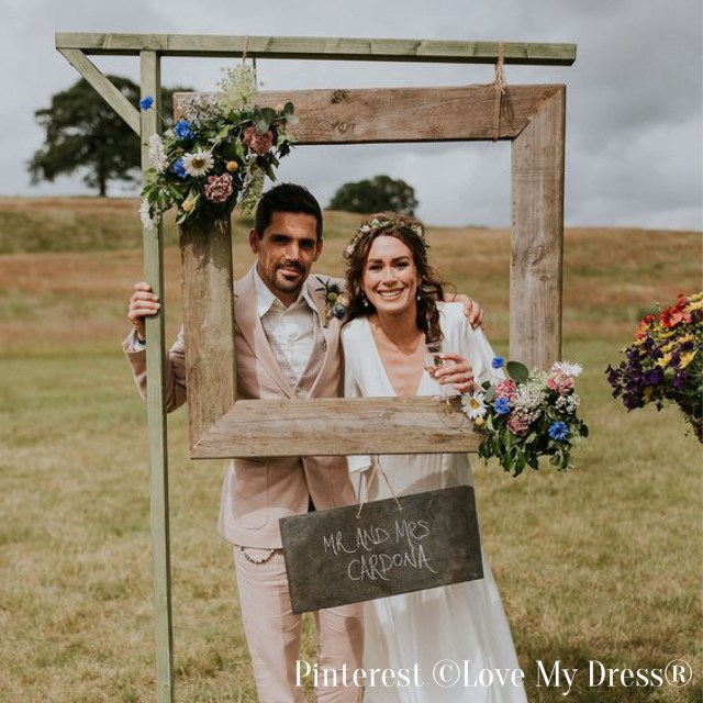 Photobooth de mariage-Cadre photo